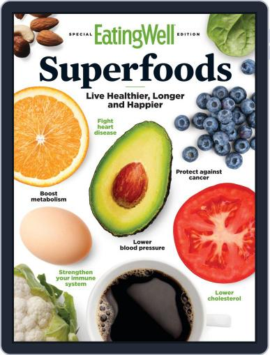 EatingWell Superfoods November 27th, 2019 Digital Back Issue Cover
