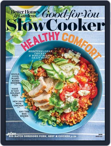 BH&G Good For You Slow Cooker December 11th, 2019 Digital Back Issue Cover