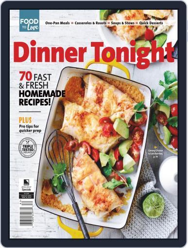 Dinner Tonight December 24th, 2019 Digital Back Issue Cover