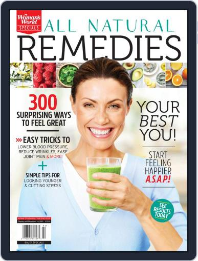 All Natural Remedies December 24th, 2019 Digital Back Issue Cover