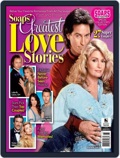 Soaps' Greatest Love Stories December 24th, 2019 Digital Back Issue Cover