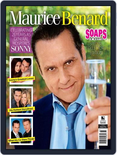 Maurice Benard: 25th Anniversary December 24th, 2019 Digital Back Issue Cover
