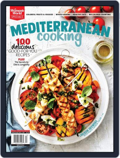 Mediterranean Cooking December 24th, 2019 Digital Back Issue Cover
