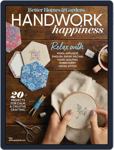Handwork Happiness January 1st, 2020 Digital Back Issue Cover