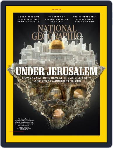 National Geographic December 1st, 2019 Digital Back Issue Cover