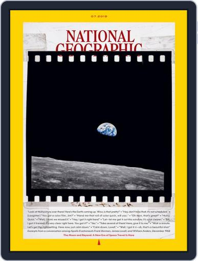 National Geographic July 1st, 2019 Digital Back Issue Cover