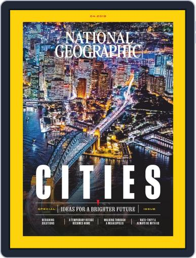 National Geographic April 1st, 2019 Digital Back Issue Cover
