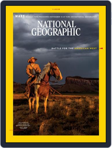 National Geographic November 1st, 2018 Digital Back Issue Cover