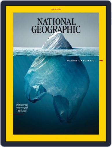 National Geographic June 1st, 2018 Digital Back Issue Cover