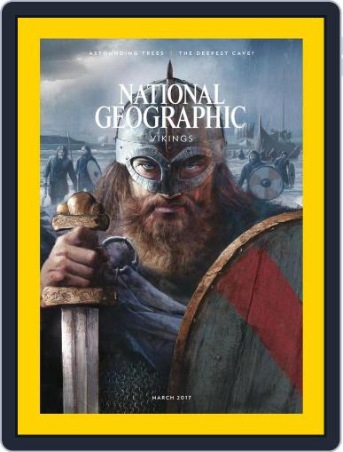 National Geographic March 1st, 2017 Digital Back Issue Cover