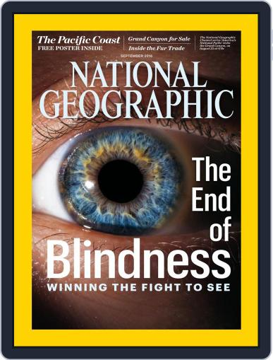 National Geographic August 31st, 2016 Digital Back Issue Cover