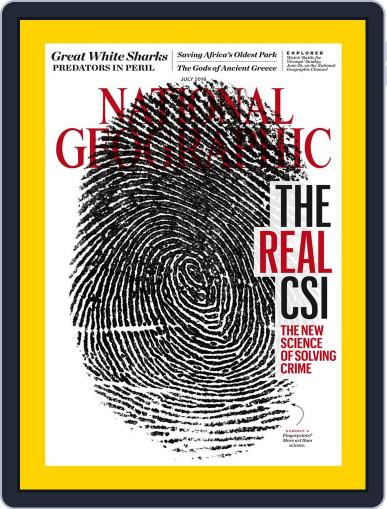 National Geographic July 1st, 2016 Digital Back Issue Cover
