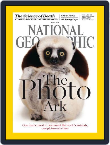 National Geographic April 1st, 2016 Digital Back Issue Cover