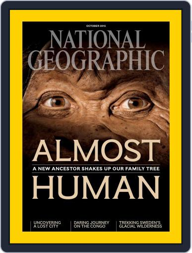 National Geographic September 30th, 2015 Digital Back Issue Cover