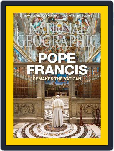 National Geographic August 1st, 2015 Digital Back Issue Cover