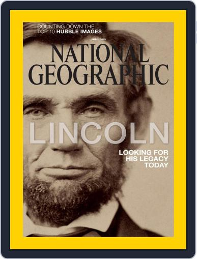 National Geographic March 30th, 2015 Digital Back Issue Cover