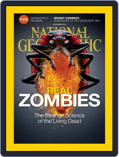 National Geographic November 1st, 2014 Digital Back Issue Cover