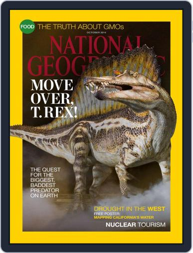 National Geographic October 1st, 2014 Digital Back Issue Cover