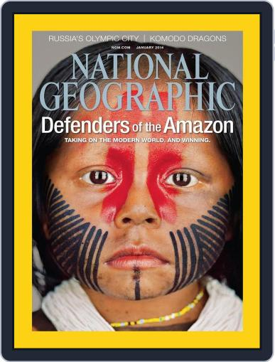 National Geographic December 31st, 2013 Digital Back Issue Cover