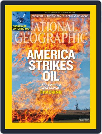 National Geographic March 1st, 2013 Digital Back Issue Cover