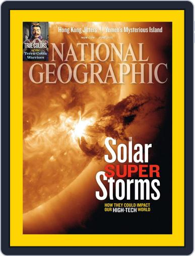 National Geographic June 1st, 2012 Digital Back Issue Cover