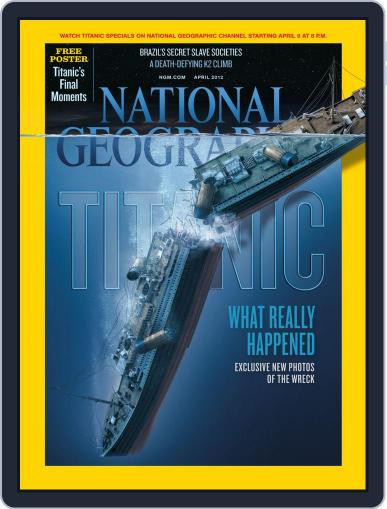 National Geographic March 30th, 2012 Digital Back Issue Cover