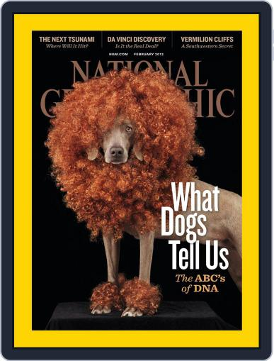 National Geographic February 7th, 2012 Digital Back Issue Cover