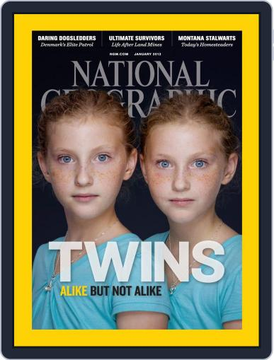 National Geographic December 24th, 2011 Digital Back Issue Cover