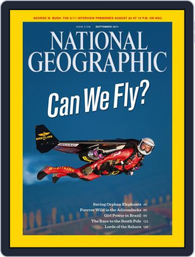 National Geographic September 6th, 2011 Digital Back Issue Cover