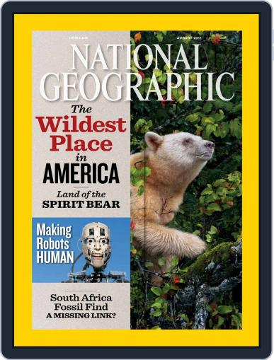 National Geographic August 5th, 2011 Digital Back Issue Cover