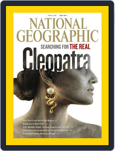 National Geographic July 1st, 2011 Digital Back Issue Cover