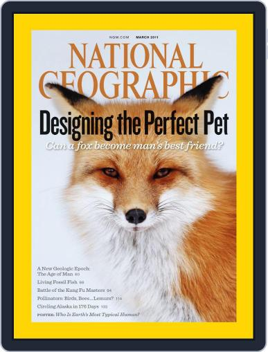 National Geographic March 20th, 2011 Digital Back Issue Cover