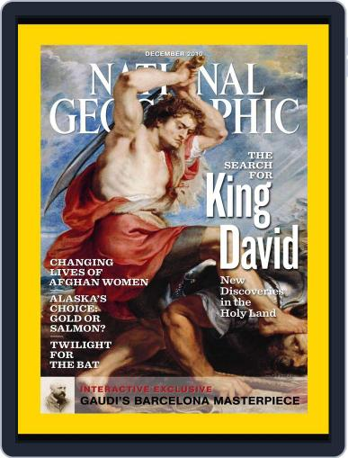 National Geographic November 30th, 2010 Digital Back Issue Cover