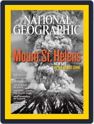National Geographic May 6th, 2010 Digital Back Issue Cover