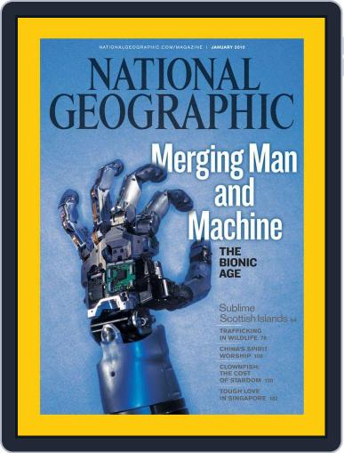 National Geographic December 30th, 2009 Digital Back Issue Cover