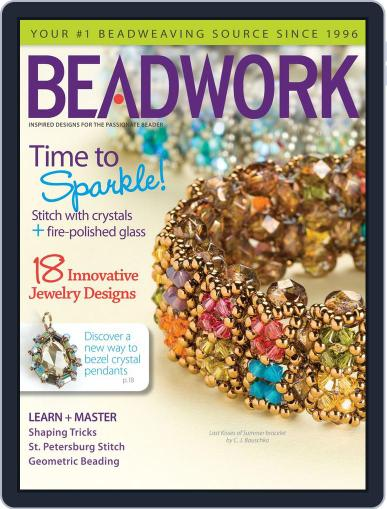 Beadwork June 22nd, 2012 Digital Back Issue Cover