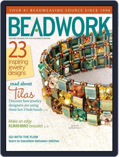 Beadwork September 5th, 2012 Digital Back Issue Cover