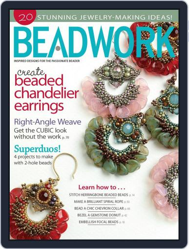 Beadwork June 19th, 2013 Digital Back Issue Cover