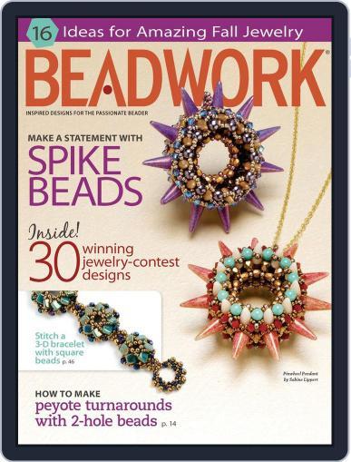 Beadwork September 5th, 2013 Digital Back Issue Cover