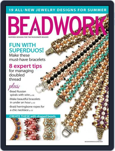 Beadwork June 18th, 2014 Digital Back Issue Cover