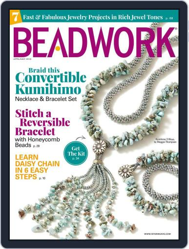 Beadwork April 1st, 2018 Digital Back Issue Cover