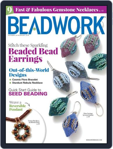 Beadwork January 1st, 2019 Digital Back Issue Cover