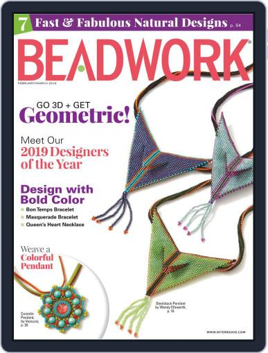 Beadwork February 1st, 2019 Digital Back Issue Cover