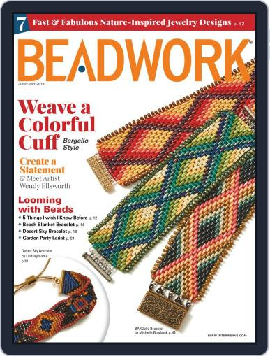 Beadwork July 1st, 2019 Digital Back Issue Cover