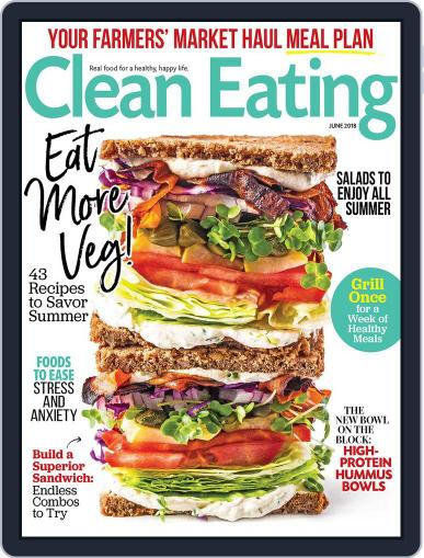 Clean Eating June 1st, 2018 Digital Back Issue Cover