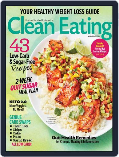 Clean Eating May 1st, 2019 Digital Back Issue Cover