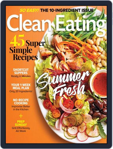 Clean Eating July 1st, 2019 Digital Back Issue Cover