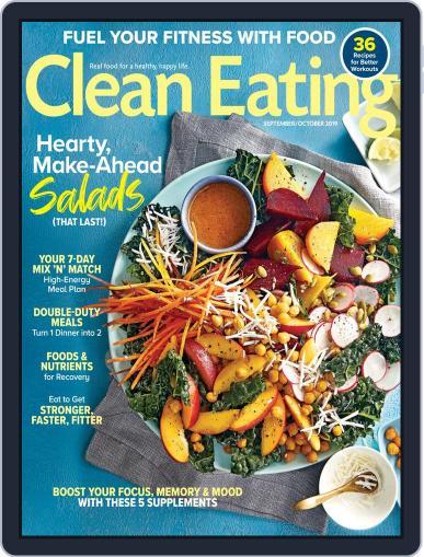 Clean Eating September 1st, 2019 Digital Back Issue Cover