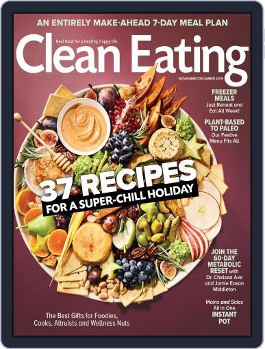 Clean Eating November 1st, 2019 Digital Back Issue Cover