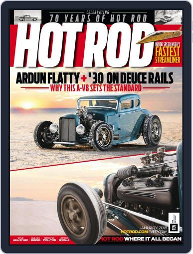Hot Rod January 1st, 2018 Digital Back Issue Cover